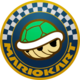 The Icon of the Shell Cup for Mario Kart Live: Home Circuit