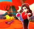 Wii Maple Treeway from Mario Kart Tour
