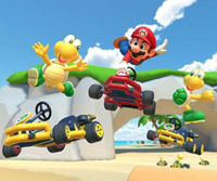 The icon of the Koopa Troopa Cup challenge from the New York Tour in Mario Kart Tour.