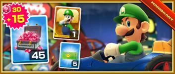 The Luigi Pack from the Halloween Tour (2019) in Mario Kart Tour