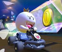 The icon of the Wario Cup challenge from the Holiday Tour and the Ludwig Cup challenge from the Mario vs. Luigi Tour in Mario Kart Tour