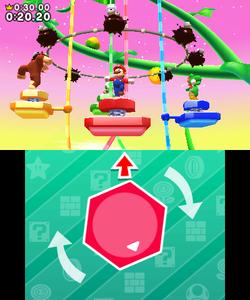 Dodge Fuzzy, Get Dizzy gameplay in Mario Party: Star Rush