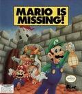 Mario is Missing! DOS box art