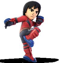 Mii Brawler from Super Smash Bros. Ultimate