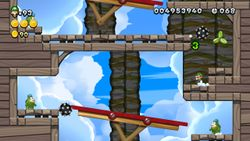 Spike's Seesaws from New Super Luigi U.