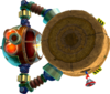 Rendered model of Digga-Leg on Super Mario Galaxy 2.