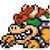 Bowser icon in Super Mario Maker 2 (Super Mario World style)