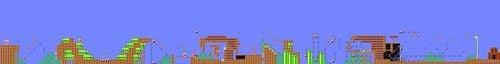 Layout of Cooooo! (Feat. Yamamura) in Super Mario Maker.