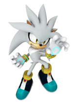 Silver's artwork, from Mario & Sonic at the Rio 2016 Olympic Games.