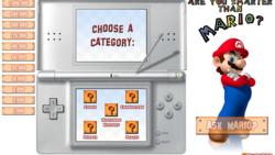 Screenshot of Are You Smarter Than Mario?