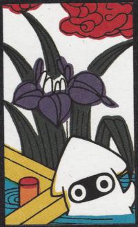 First card of May in the Club Nintendo Hanafuda deck.