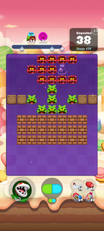 Stage 479 from Dr. Mario World