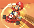 The icon of the Mario Cup challenge from the Baby Rosalina Tour and the Donkey Kong Cup challenge from the 2021 Yoshi Tour in Mario Kart Tour