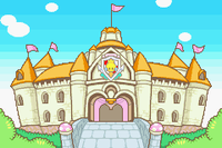 Peach's Castle in Mario & Luigi: Superstar Saga (Japan)