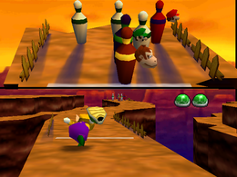 Bowl Over from Mario Party 2