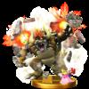 Giga Bowser's trophy render from Super Smash Bros. for Wii U