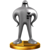Starman trophy from Super Smash Bros. for Wii U