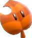 Artwork of a Super Leaf from Super Mario 3D World.