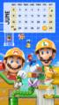 Super Mario Maker 2 June Calendar A Phonepaper.png