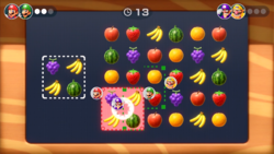 Juice Box minigame from Super Mario Party