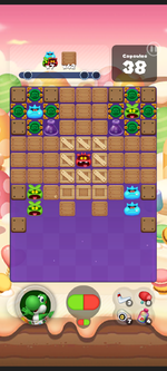Stage 467 from Dr. Mario World