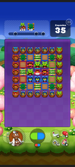 Stage 541 from Dr. Mario World