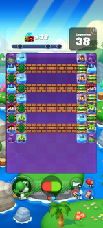 Stage 638 from Dr. Mario World