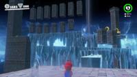 Ice Cave in Super Mario Odyssey