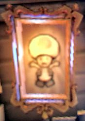Toad's Painting in Haunted Towers