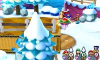 The Trio Drill in Mario & Luigi: Paper Jam.
