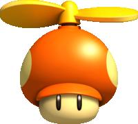 A Propeller Mushroom