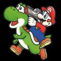 Yoshi's Safari - Mario Yoshi Artwork Alt.png