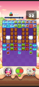 Stage 451 from Dr. Mario World