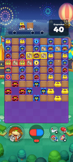 Stage 676 from Dr. Mario World