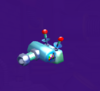The E. Gadd Cannon from Mario Party 5s Super Duel Mode.