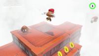 The foggy bonus area in Super Mario Odyssey