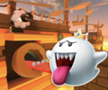 DS Airship Fortress R from Mario Kart Tour