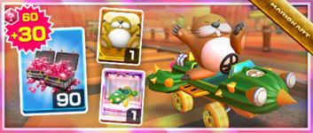 The Cact-X Pack from the Wild West Tour in Mario Kart Tour