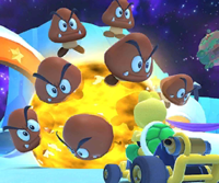 The icon of the Donkey Kong Cup challenge from the Rosalina Tour in Mario Kart Tour