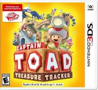 Captain Toad: Treasure Tracker Nintendo 3DS boxart