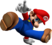 Mario in a dancing pose from Dance Dance Revolution: Mario Mix.