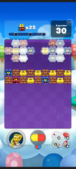 Stage 161 from Dr. Mario World