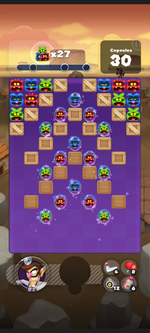 Stage 202 from Dr. Mario World