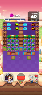 Stage 455 from Dr. Mario World