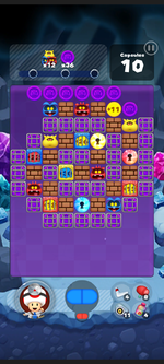 Stage 502 from Dr. Mario World