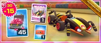 The Crawly Kart Pack from the 2020 Halloween Tour in Mario Kart Tour