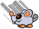 The Scaredy Rat 10-Stack from Paper Mario: Color Splash.