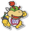 Artwork of Bowser Jr. from Paper Mario: The Origami King