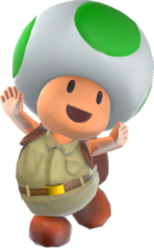 SMO Asset Model Toad Brigade (Green Toad).png