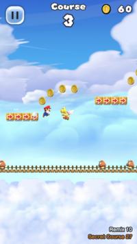 Secret Course 27 from Super Mario Run